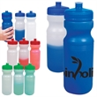 24 oz. Color-Changing Water Bottle - 24 oz. sports bottle with color changing properties and a leak-resistant, screw-top cap with wide mouth design and pull-spout.