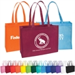 """Standard Non-Woven Tote - Standard non-woven tote bag with box gusset, crisp binding edge seams and 22"""" reinforced handles."""