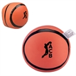 Basketball Pillow Ball - Basketball shaped pillow ball with vinyl exterior and soft polyester stuffing.