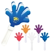Hand Clapper - Hand shaped clapper noisemaker with customization options.