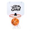 Basketball Set - Miniature basketball set with backboard and basketball.