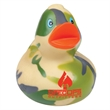 Camouflage Rubber Duck - Rubber duck with camouflage design.