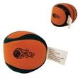 Basketball Kick Sack - Bean filled vinyl kick sack designed to resemble a basketball.
