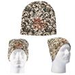 Digital Camo Knit Beanie - Acrylic knit winter beanie with digital camouflage design.