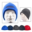 Fleece Beanie - 100% polyester fleece beanie that stretches to fit most head sizes.