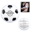 Hot/Cold Gel Pack - Sport Shapes - Soccer - Soccer ball themed aqua bead gel therapy hot/cold pack for temporary muscle ache relief.