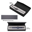 Magnetic Closure Gift Box for Pens - Heavy cardboard gift box with magnetic closure designed to hold one pen.