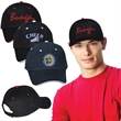 Unstructured Sandwich Cap - 100% cotton unstructured baseball cap with color contrast sandwich visor, six panels, sewn eyelets and more.