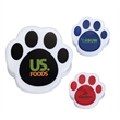Pet Paw Magnetic Memo Clip - Pet paw shaped memo clip with heavy duty magnet.