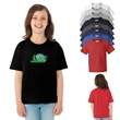 Fruit of the Loom® HD Cotton Youth T-Shirt - Youth t-shirt made of pre-shrunk 50/50 cotton/polyester.