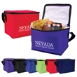 Budget 6-Pack Cooler - Six pack cooler bag with PEVA lining. Budget priced.