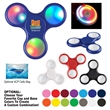 Light-Up LED Fun Spinner - Spinner with ability to turn multicolor LED lights on/off on each panel and adjust the pulse speed.