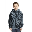 Port & Company Youth Tie-Dye Pullover Hooded Sweatshirt. - Port & Company Youth Tie-Dye Pullover Hooded Sweatshirt.