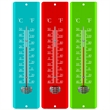 "11.5"" Metal Thermometers - Metal Mercury-free weatherproof thermometer."