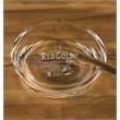 "Round Cigar Ashtray - Handcrafted non-lead crystal round cigar ashtray, 7 1/2"" Dia."