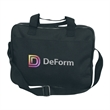 Briefcase - Briefcase with extra strong nylon zippers, made of 600 Denier Polyester.