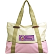 Chino Tote - Tote bag with zippered closure, fully lined, zippered closure.