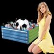 Inflatable Soccer Fan Cooler - Inflatable Soccer Fan Cooler