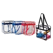 Stadium Tote-Clear - This clear tote complies with the new NFL stadium regulation for clear bags