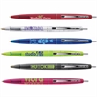 Clear Clics® - Clear ballpoint pen with nickel plated trim and medium point. Always in stock.