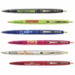 Clear Clics® Gold - Clear ballpoint pen with gold-plated trim and medium point.