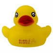 Rubber Duckie - Yellow rubber duck with pad printed graphics.