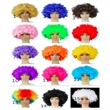 Colorful Afro Wigs, Party Wig Afro, Festival Wig