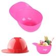 Mini Baseball Helmet Ice Cream Bowls