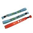 Fabric Cloth Sublimated Wristband, Woven Wristband