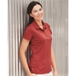 Champion Women's Vapor Sport Shirt - 100% performance polyester polo for women with moisture wicking and underarm inserts for ventilation.
