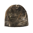"""Kati 8"""" Camo Knit Beanie - Break-up knit cap made of 60/40 cotton/polyester with interior lining. Blank."""