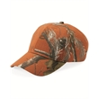 Kati Camo Cap - Six-panel, mid-profile, structured camouflage cap made of 100% polyester. Blank.