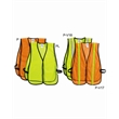 ML Kishigo P-Series Mesh Vest - Brightly colored mesh vest with colored taping. Blank product.
