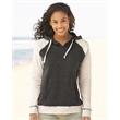 MV Sport Women's Harper Raglan Hooded Sweatshirt - Women's Reese Raglan Hooded Pullover Sweatshirt.