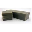 Cold Processed Soap - Bamboo Mud - Small batch bar of bamboo mud cold processed soap with customizable tags, gift box or organza bag.