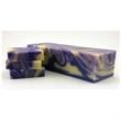 Cold Processed Soap - Lavender - Small batch, cold processed bar of high-quality lavender soap with customizable tag, box, or organza gift bag.