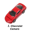 Die Cast Toy Cars - Die cast toy car made of metal and plastic with movable wheels.