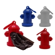 Fire Hydrant Shaped Waste Bag Dispenser - Fire Hydrant Shaped Waste Bag Dispenser with 15 bags included