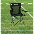 Coleman® Mesh Quad Chair - Folding chair with mesh cup holder.
