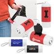 Poop and Light Waste Bag Dispenser w/LED Flashlight - Poop bag and LED flashlight