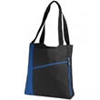 Incline Convention Tote - Convention tote bag with practical pocket.