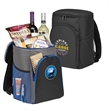Glacier Backpack Cooler - Backpack cooler with a fully insulated, waterproof main compartment that holds 24 cans plus ice