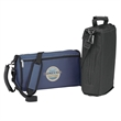 Stealth Cooler - Stealth Cooler with insulated main compartment, zippered pocket, handle, and shoulder strap