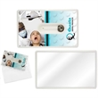 Credit Card Style Dental Floss with Mirror - Credit card style dental floss with mirror.
