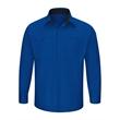 Red Kap Performance Plus Long Sleeve Shirt with OilBlok T... - Men's Performance Plus Long Sleeve Shop Shirt with Oilblo...
