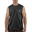 Men's Workwear Pocket Sleeveless Mid Weight T Shirt Rlxd Fit - Carhartt Men's Workwear Pocket Sleeveless Mid Weight T Shirt Rlxd Fit
