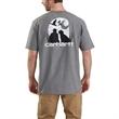 Carhartt Men's Workwear Dog Graphic SS TShirt - Carhartt Men's Workwear Dog Graphic SS TShirt