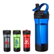 Clean Sip 25 oz. Tritan™ Water Bottle - 25 oz. Tritan bottle; includes straw, closure tab on drinking spout and large carrying handle.