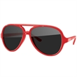 Aviator Sunglasses - Quality polycarbonate sunglasses with dark UV400 lenses available in 10 colors.