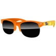 Club Sport Sunglasses w/ full-color imprints - Quality PC Club Sport sunglasses with dark UV400 impact resistant PC lenses.